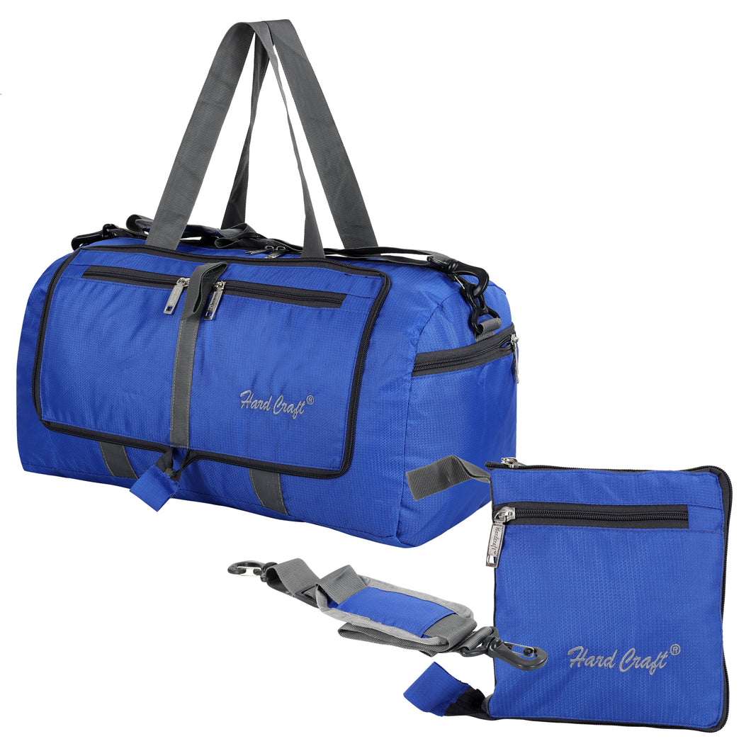 Hard Craft Lightweight Luggage Folding Travel Air Bag - Blue