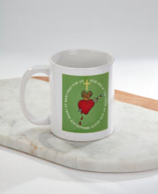 Load image into Gallery viewer, Green Scapular Reminder Mug