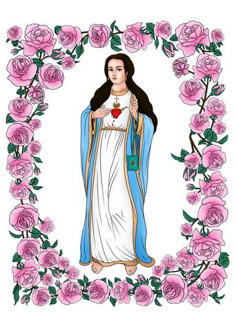 FOR THE IMMACULATE HEART TRIUMPH HELP SUPPORT THE GREEN SCAPULAR MESSAGE