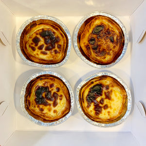 PORTUGESE TARTS (PACK OF 4)