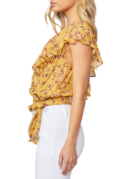 Faux Leather Tee
