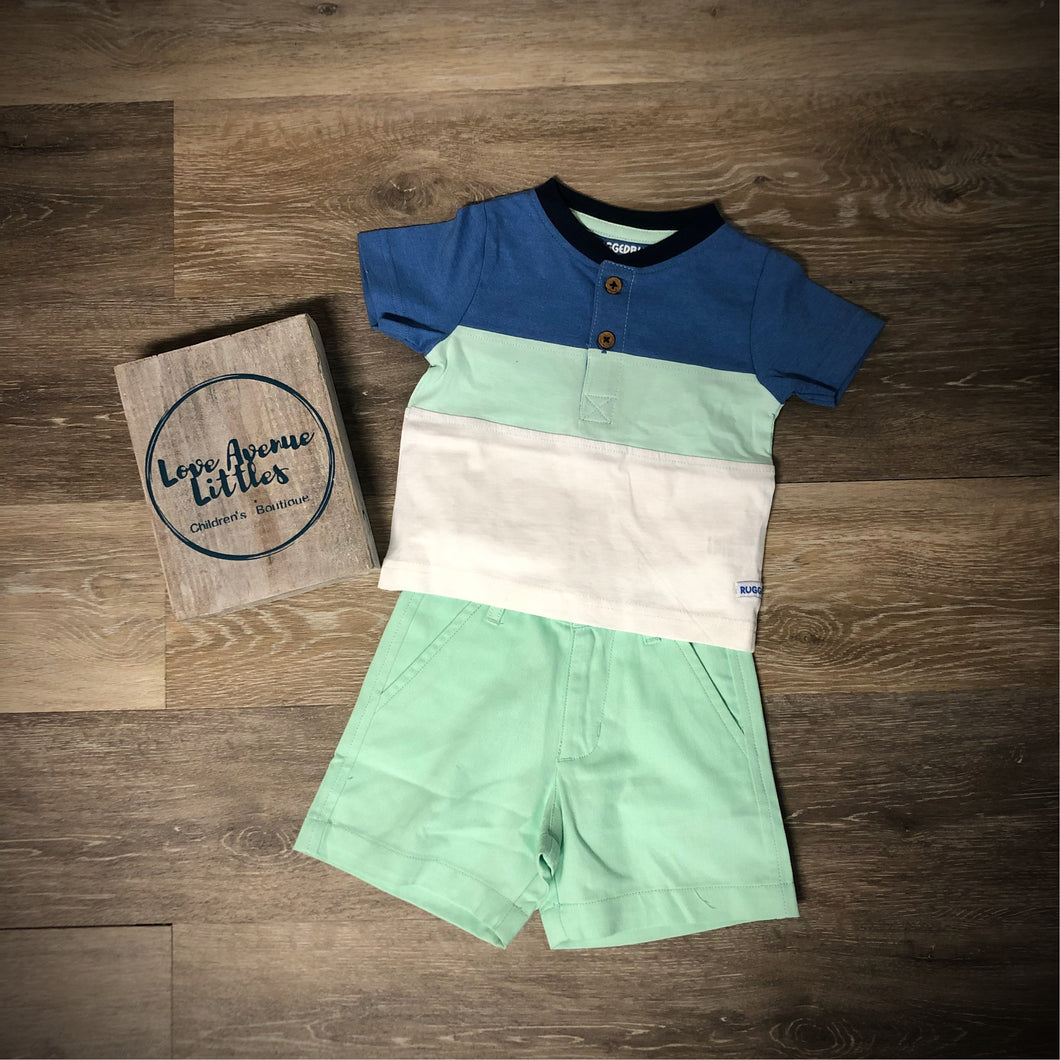 Neo Mint Chino Shorts