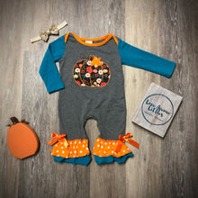 Load image into Gallery viewer, Pumpkin Baby Romper
