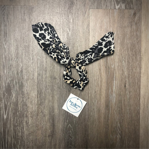 Leopard Hair Tie Scrunchie