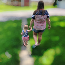 Load image into Gallery viewer, Stars & Stripes Mommy Top