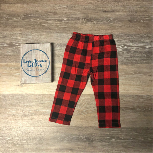 Buffalo Plaid Flannel Pants