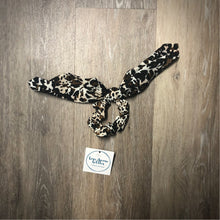 Load image into Gallery viewer, Leopard Hair Tie Scrunchie