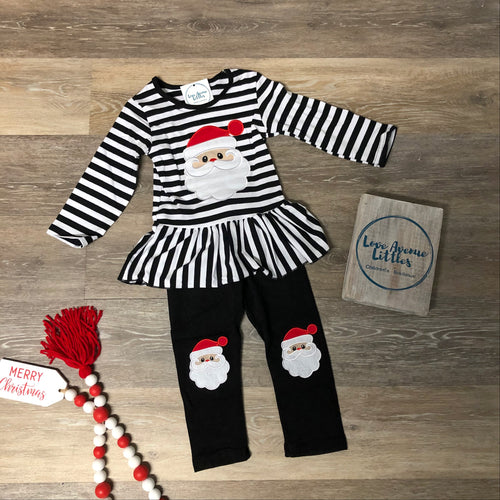 Striped Santa Set