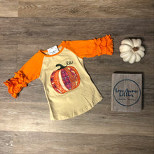 Load image into Gallery viewer, Pumpkin Raglan Shirt