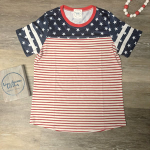Stars & Stripes Mommy Top