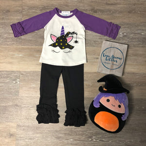 Witch Ruffle Raglan