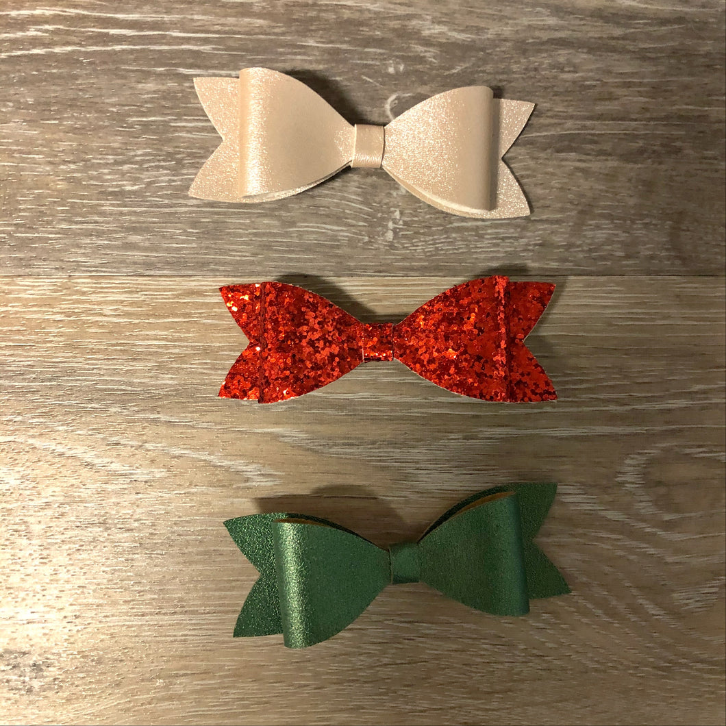 Turquoise Bunny Bows
