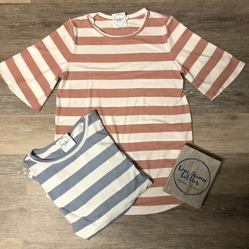 Summer Striped Top - Mommy