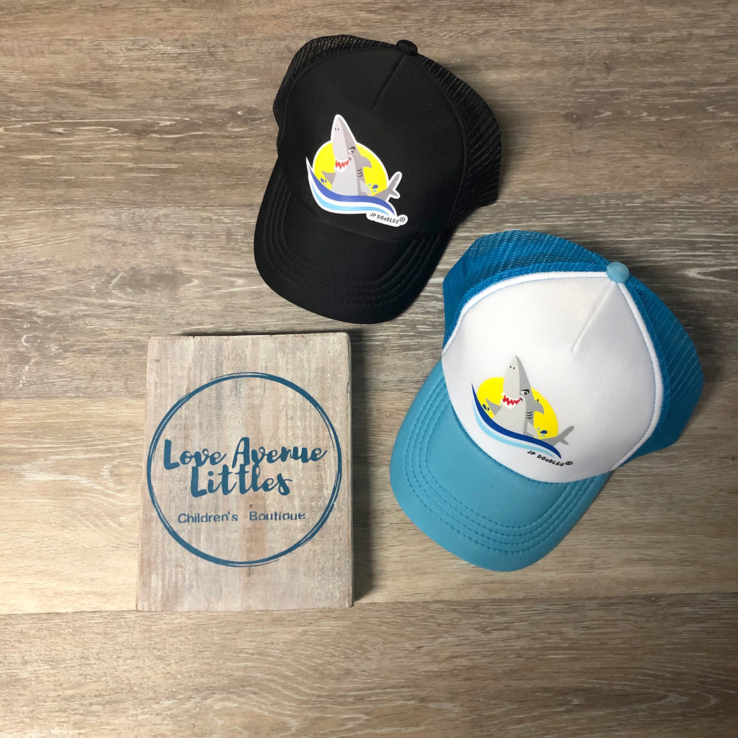 Lil' Trucker Hat - Shark