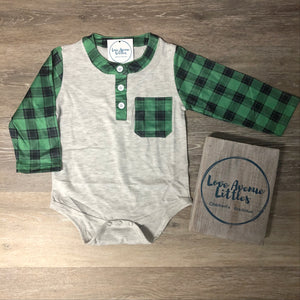 Lincoln Plaid One Piece