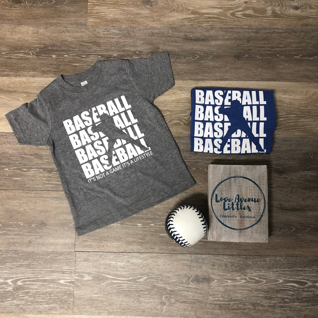 Baseball Lifestyle Tee