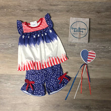 Load image into Gallery viewer, Stars and Stripes Girls' Top