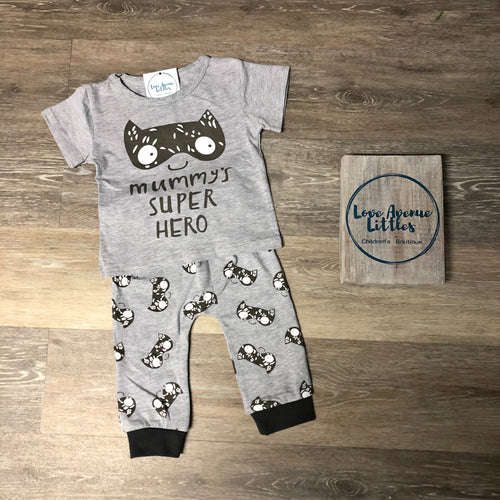 Mummy's Super Hero Set