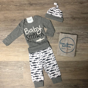 Baby Shark Onesie Set