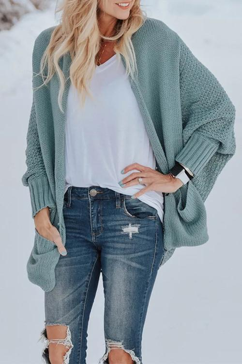 chicindress Cassie Batwing Sleeves Sweater Cardigans