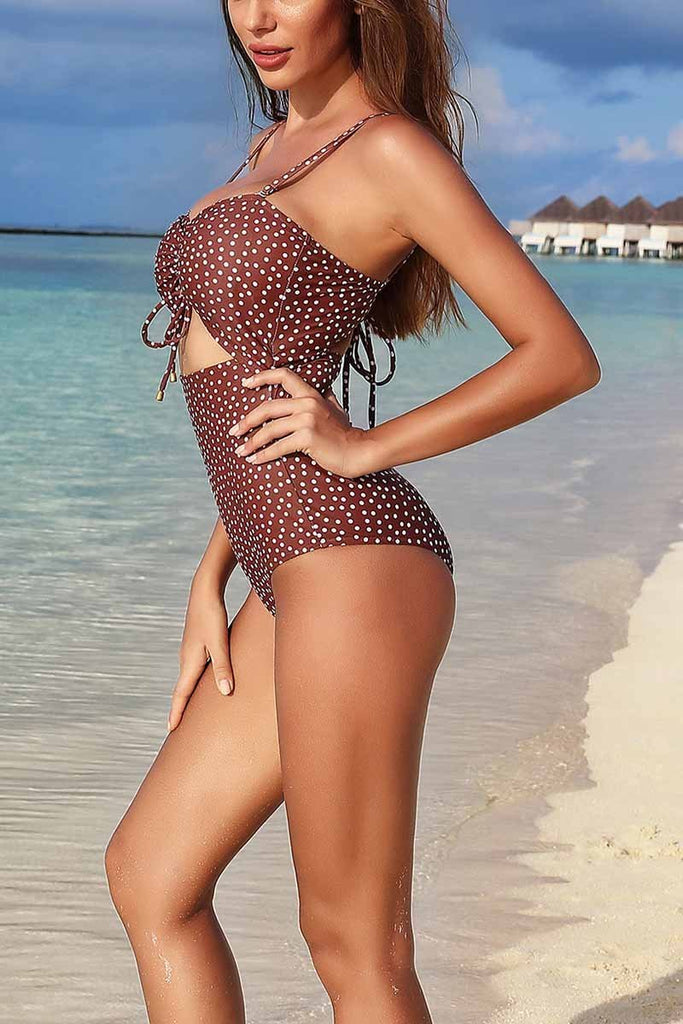Chicindress Sexy Printed One Piece Swimwear