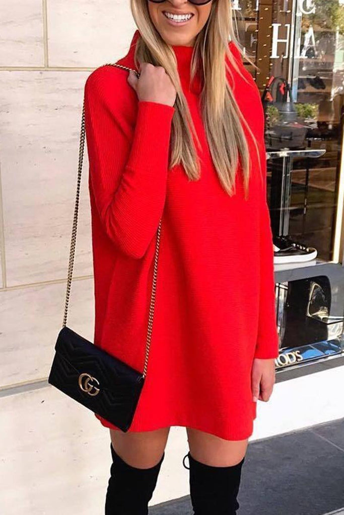 Chicindress O Neck Autumn Dress