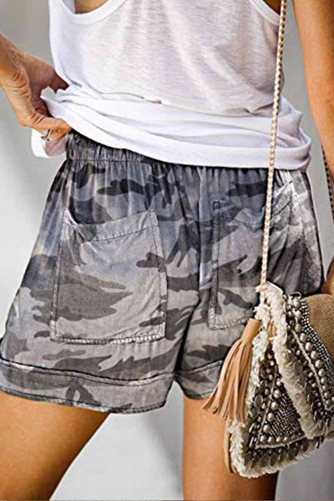 Chicindress Summer Loose Print Shorts