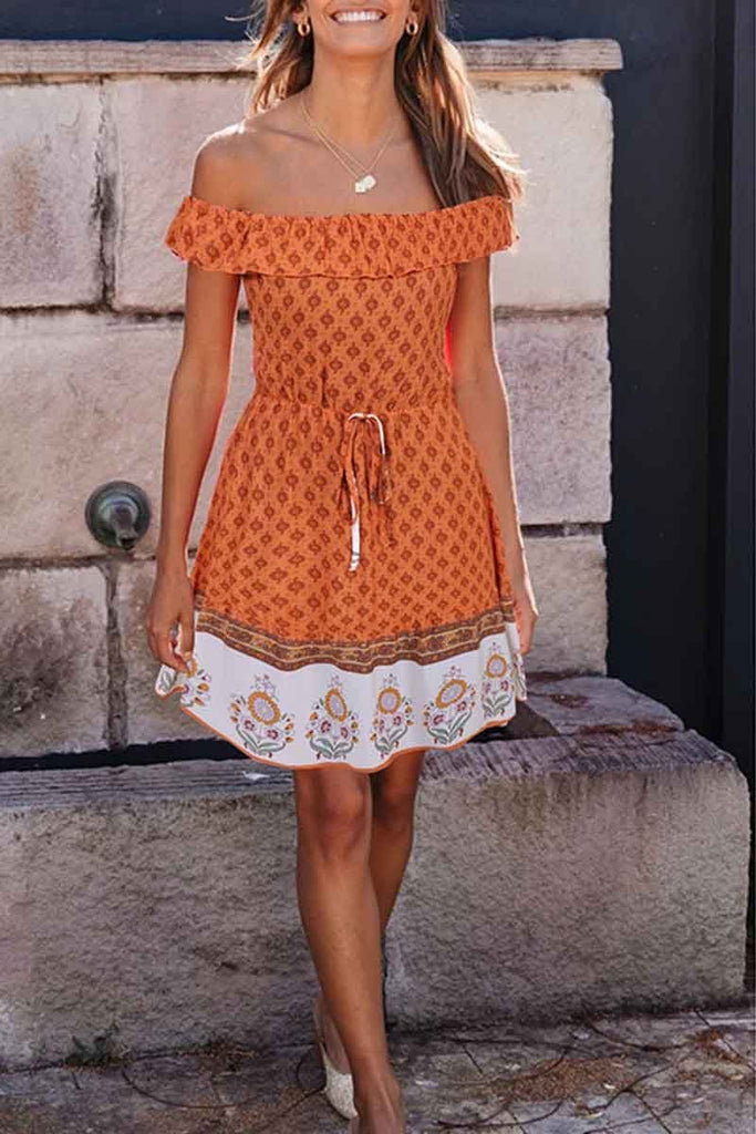 Chicindress Bohemian Short Sleeve Dress(3 colors)
