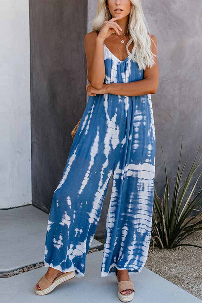 Chicindress Loose Tie-dye Cute Jumpsuit(2 Colors)
