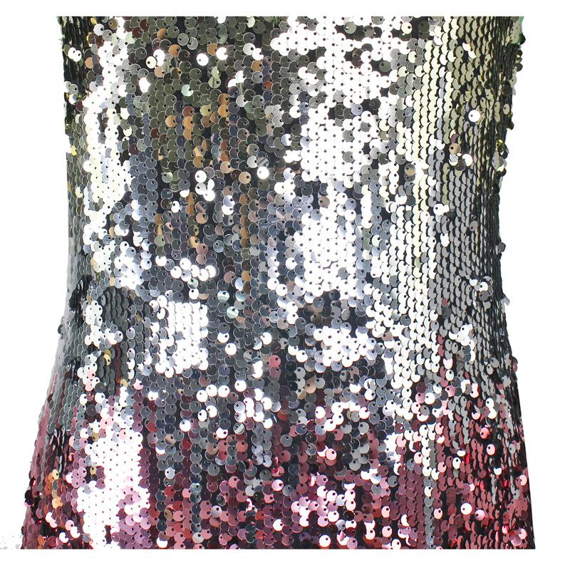 Chicindress V-Neck Sexy Sequin Suspenders Mini Dresses
