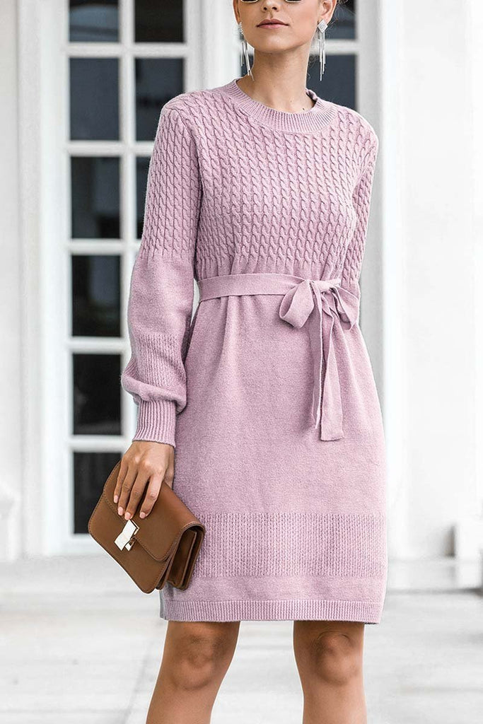Chicindress Winter Knit Sweater Dress