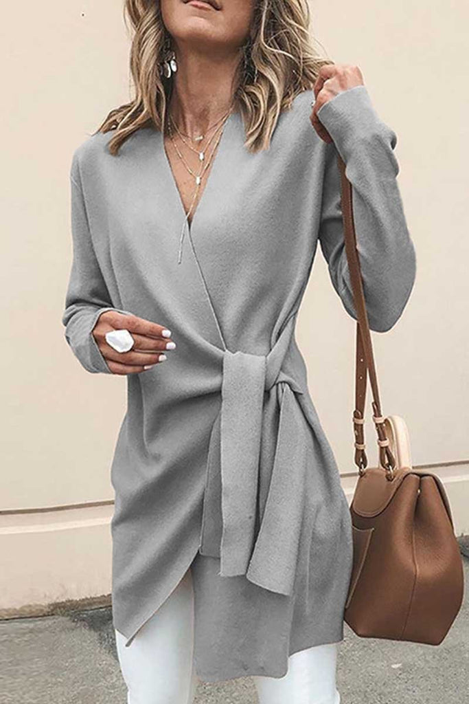 Chicindress Loose solid Cardigan