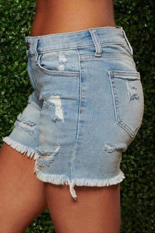On-trend Ripped Sexy Denim Shorts