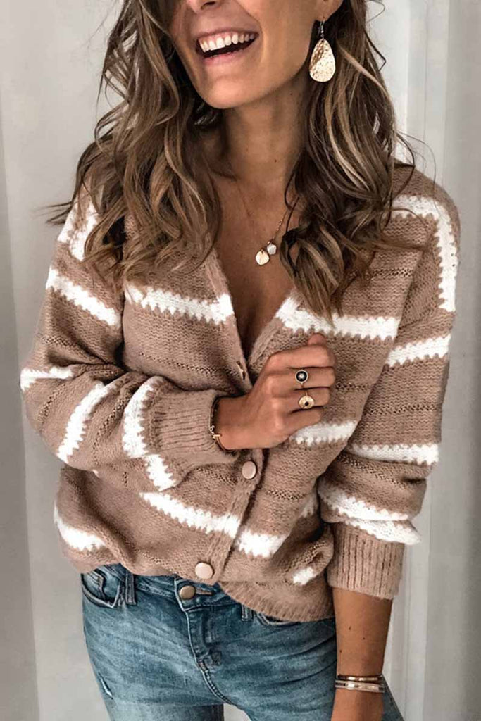 Chicindress Women's Khaki Knit Cardigan