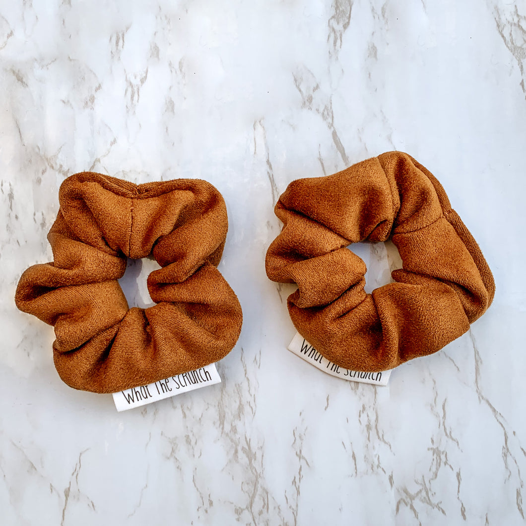 Brown Suede Mini