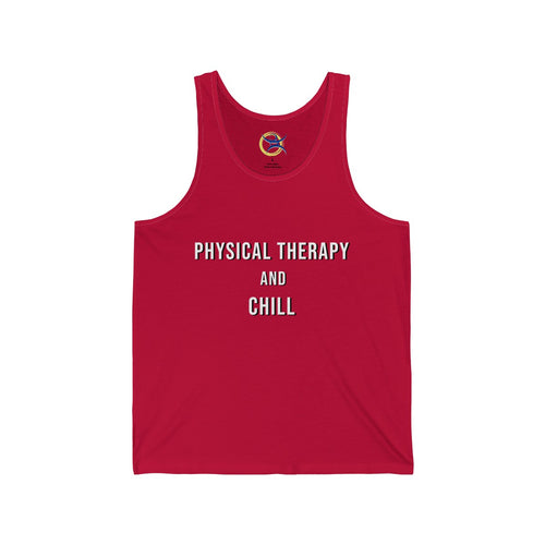 Physical Therapy & Chill - Men's Tank