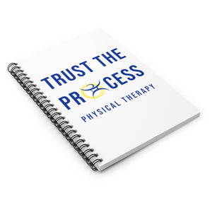 Trust The Process - Spiral Notebook - Ruled Line