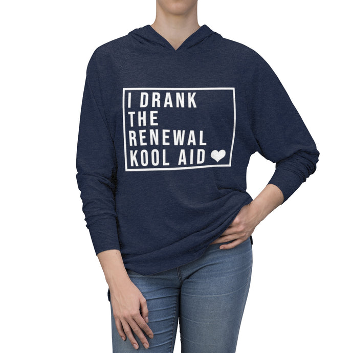 I Drank The Renewal Kool Aid - Tri-Blend Hoodie