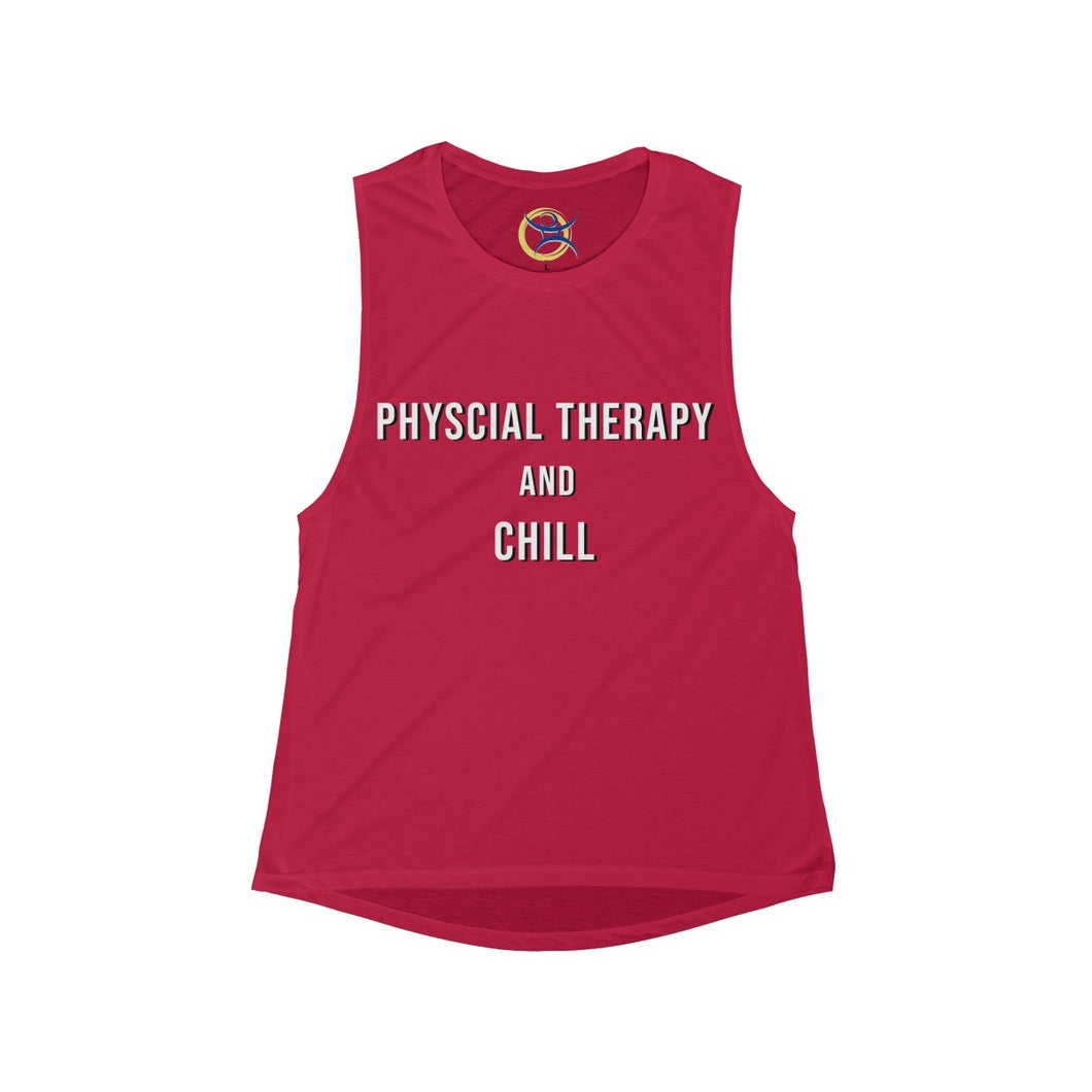 Physical Therapy & Chill - Women's Muscle Tank