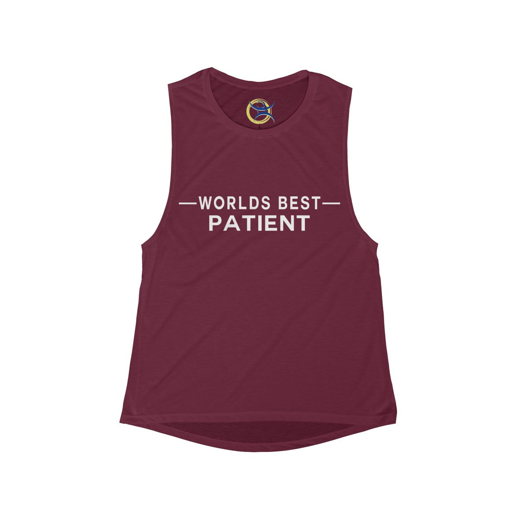 Worlds Best Patient - Women's  Muscle Tank
