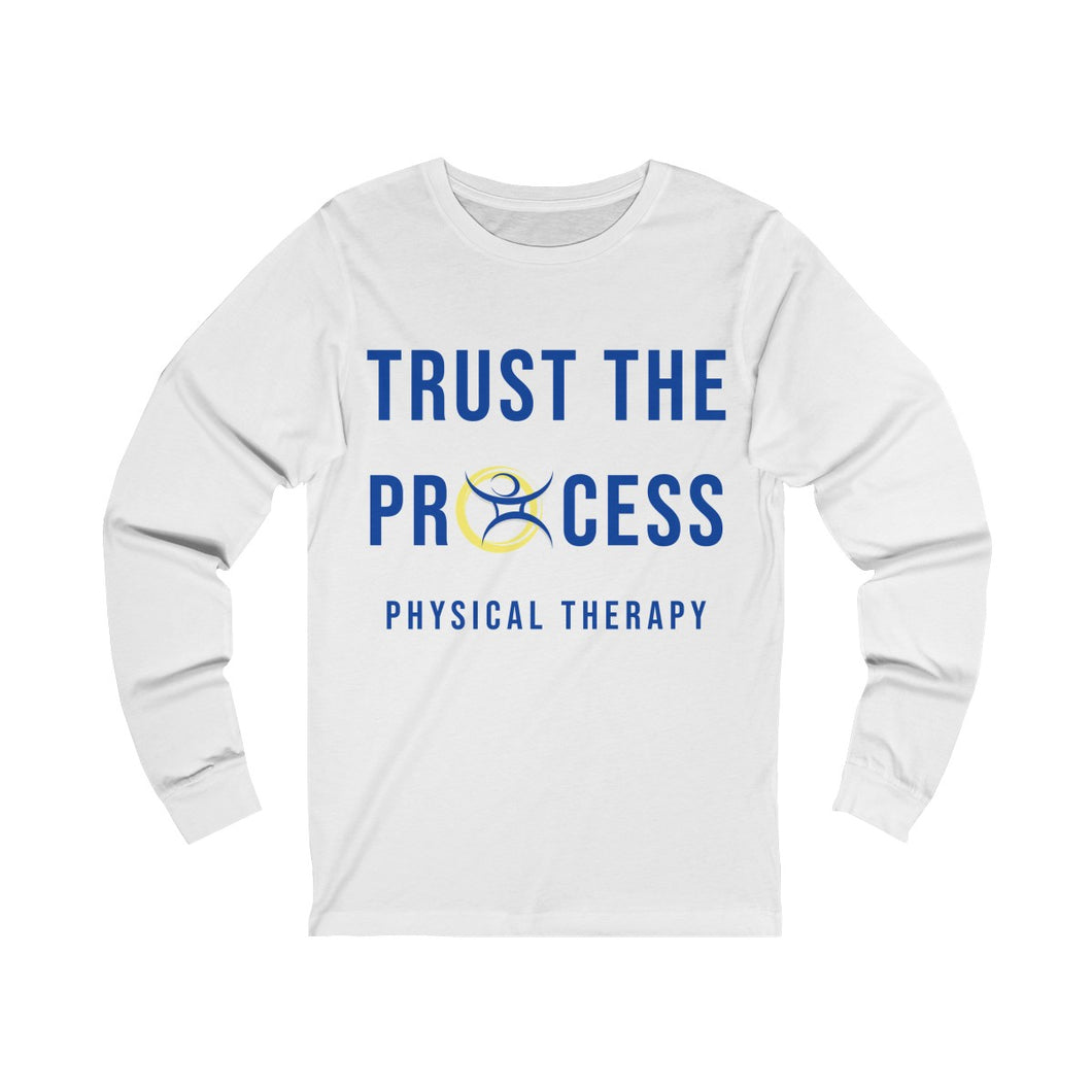 Trust The Process - Unisex Jersey Long Sleeve Tee