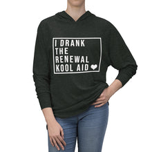 Load image into Gallery viewer, I Drank The Renewal Kool Aid - Tri-Blend Hoodie