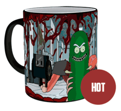Mug Thermoactif Pickle Rick