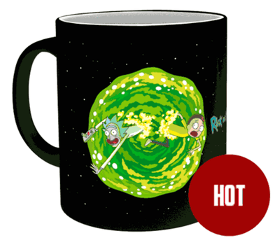 Mug Thermoactif Rick et Morty