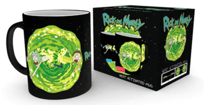coffret Mug Thermoactif Rick et Morty