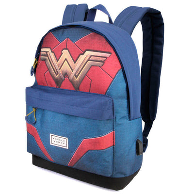 Sac à Dos Wonder Woman coté