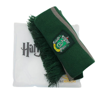 Echarpe Harry Potter Serpentard verte