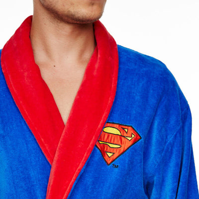 Peignoir Homme Superman rouge