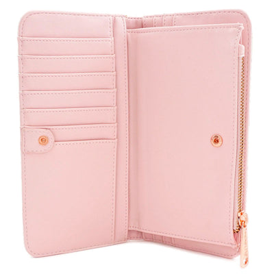 portefeuille loungefly rose