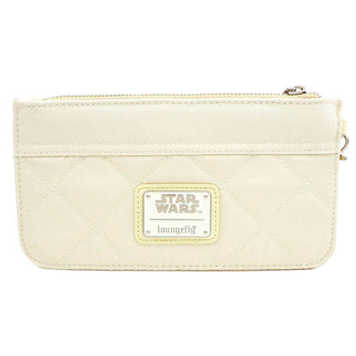 Portefeuille Loungefly Princesse Leia blanc